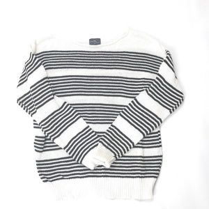 Market & Spruce Women's Crewneck Knitted Sweater M